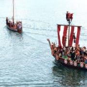 desembarco vikingo catoira